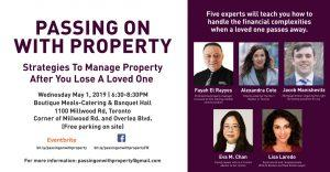 Passing On With Property Event